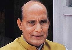 Communal BJP is Congress propaganda: Rajnath Singh