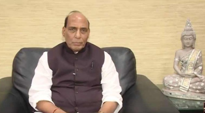 Home Minister Shri Rajnath Singh message on Prakashparv Deepawali Nov 11, 2015 .