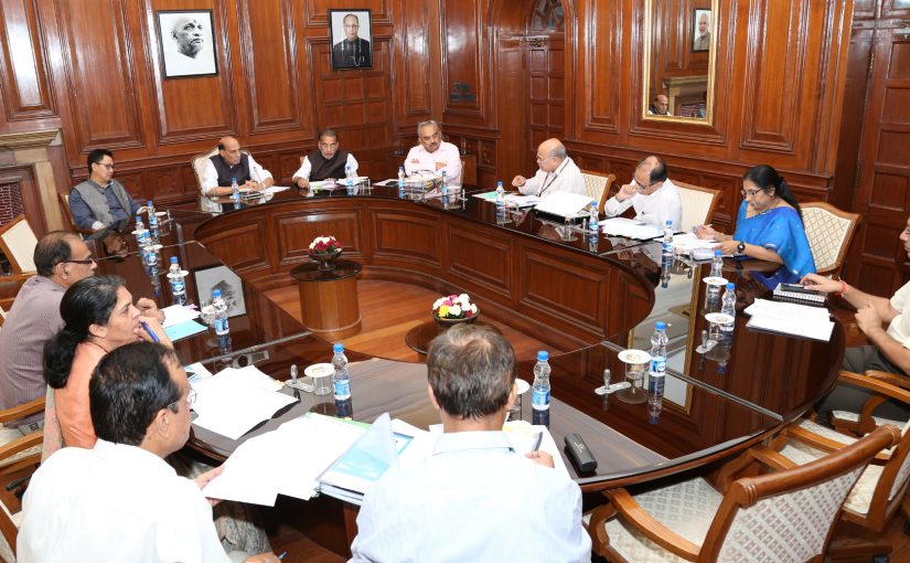 Union Home Minister chairs High Level Committee meeting for Central Assistance to Maharashtra