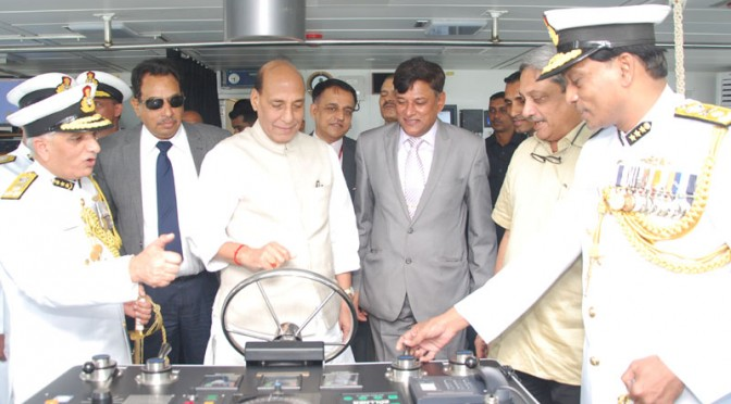 Maritime terrorism still a major threat: Rajnath
