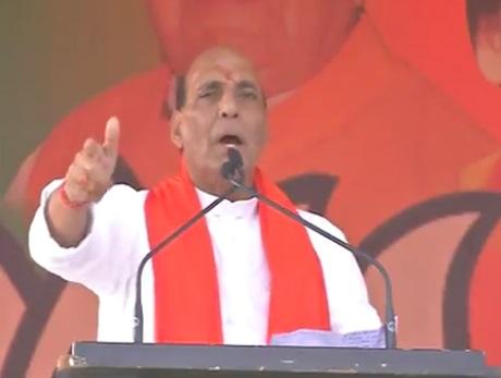 Shri Rajnath Singh addresses Public Rally in Ballia, Uttar Pradesh