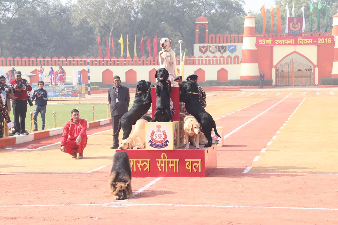 ssb-jawans-performing-various-acts-ssb-foundation-day-5