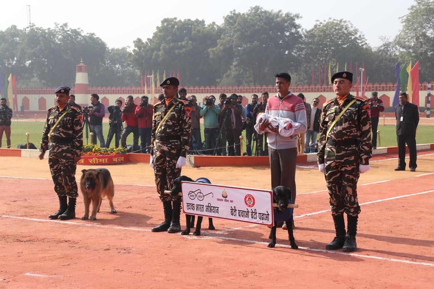 ssb-jawans-performing-various-acts-ssb-foundation-day-6