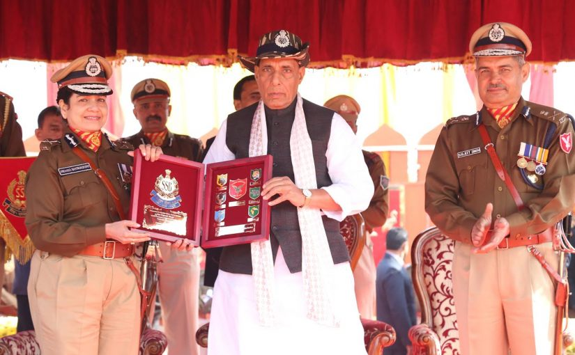 Home Minister Shri Rajnath Singh participate in 53rd Raising Day of Sashastra Seema Bal (SSB)