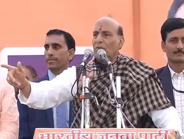Shri Rajnath Singh addresses election meetings in Haridwar, Uttarakhand