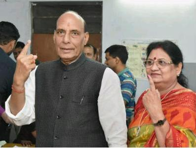 I have no intention of returning to state politics: Rajnath Singh || Times of India