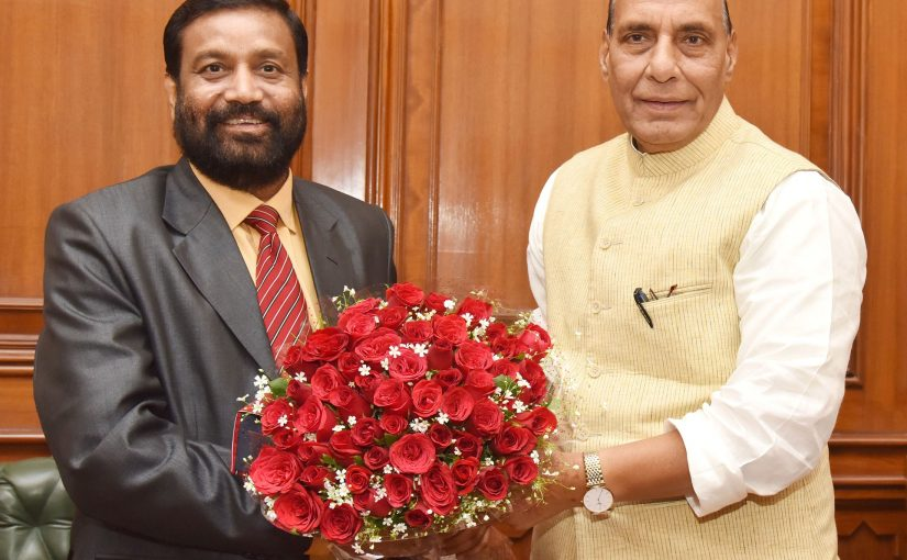 Deputy PM and Home Minister of Nepal calls on Union Home Minister Shri Rajnath Singh