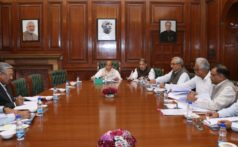 HM Shri Rajnath Singh chairs meeting; HLC approves assistance of about Rs. 5021 crore from NDRF and NRDWP