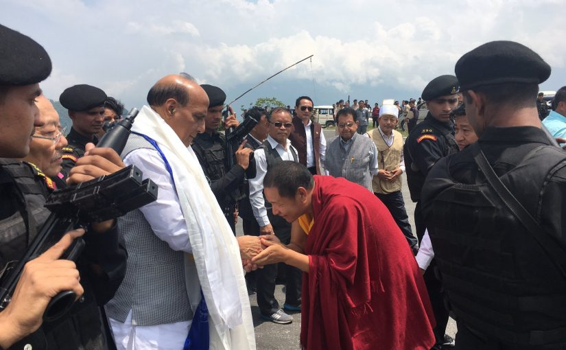 Day 1: Union Home Minister Shri Rajnath Singh's 3 day visit to Sikkim.