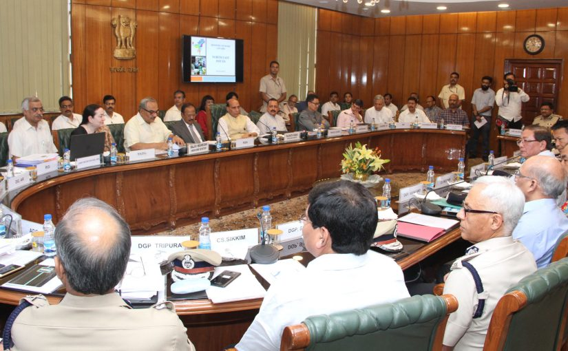 Home Minister Shri Rajnath Singh's Opening remarks at the meeting on issues related to North East