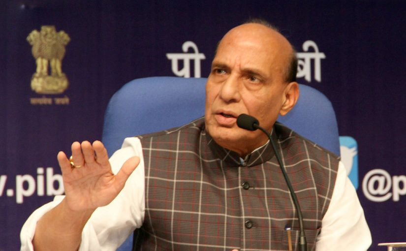 Home Minister Shri Rajnath Singh highlights achievements & key initiatives of MHA in the last 3 years