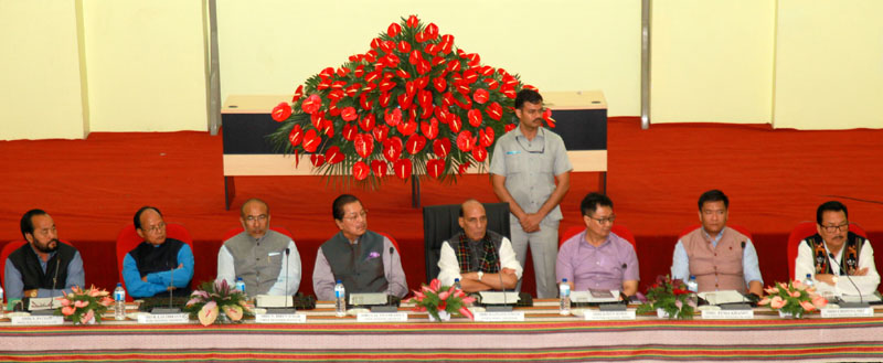 Union Home Minister Shri Rajnath Singh chairs meeting to review Indo-Myanmar border issues
