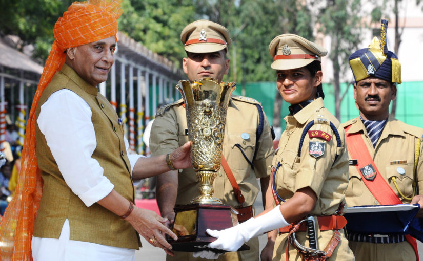 HM Shri Rajnath Singh addresses IPS probationers at National Police Academy, tells them to become role models through hard work and right conduct