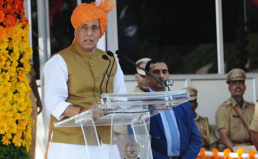Salient Points of Shri Rajnath Singh speech at National Police Academy, Hyderabad