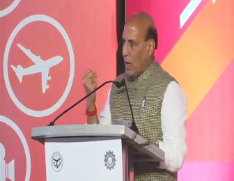 HM Shri Rajnath Singh addresses Uttar Pradesh Investors' Summit 2018