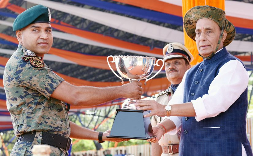 Shri Rajnath Singh attends CRPF's 79th Raising Day Parade