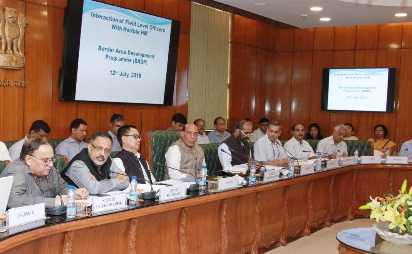 Border population is our strategic asset: Shri Rajnath Singh