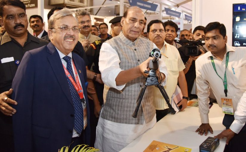 Home Minister inaugurates Defence & Homeland Security Expo and Conference, 2018