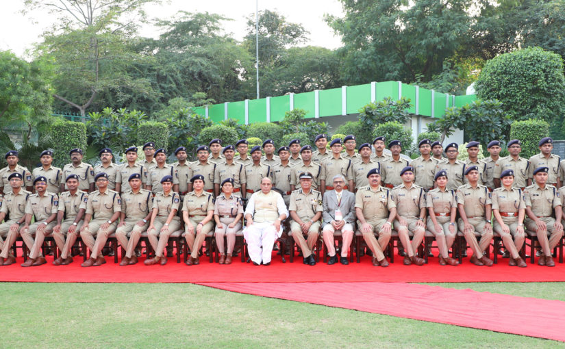 Union Home Minister Shri Rajnath Singh addresses IPS probationers; calls for specialization in policing