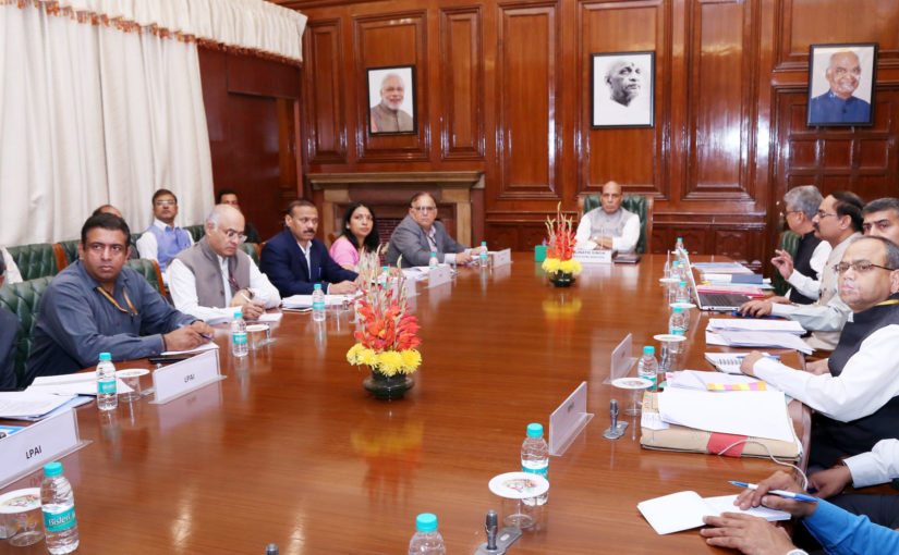 Home Minister Shri Rajnath Singh reviews Integrated Check Posts and Border Management projects