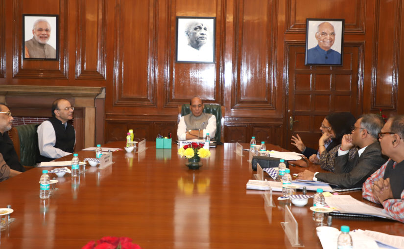 Union Home Minister Shri Rajnath Singh chairs High Level Committee meeting for Central assistance to Karnataka