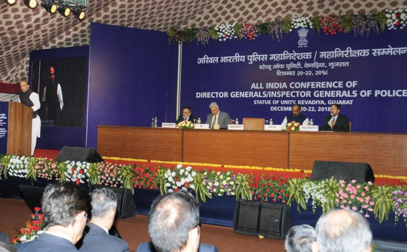 Home Minister Shri Rajnath Singh addresses Inaugural Session of DGP/IGP Conference in Gujarat