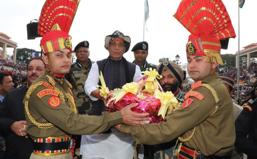 Union Home Minister Shri Rajnath Singh laid foundation stone for Security Force Residential Complex