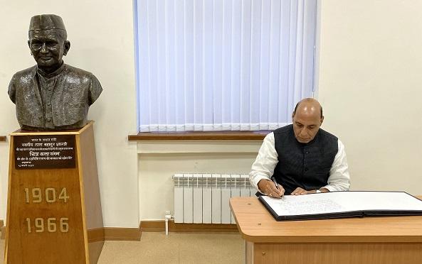 Defence Minister Shri Rajnath Singh to represent India at SCO meet in Tashkent