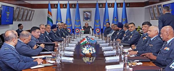 Raksha Mantri Shri Rajnath Singh Inaugurates Air Force Commanders' Conference