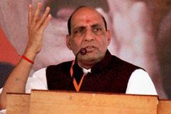 कांग्रेस की राजनीति सिर्फ सत्ता के लिए: राजनाथ