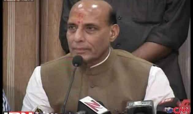 किसानों की खुदकुशी सरकारी लापरवाही: राजनाथ