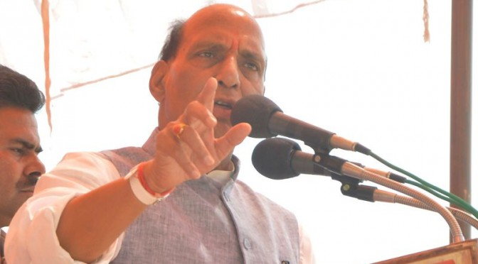 No rethink on Modi as BJP's prime ministerial candidate: Rajnath