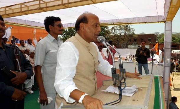 Salient points of speech by Shri Rajnath Singh in Satna (Madhya Pradesh) rally