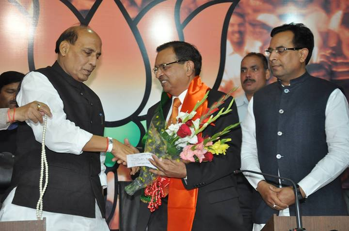 Former-RAW-Chief-Shri-Shubhash-Tripathi-joined-the-BJP-today-2
