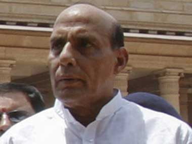 BJP eyes first sole election majority since 1984, says Rajnath Singh