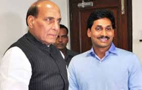 Jagan meets Rajnath