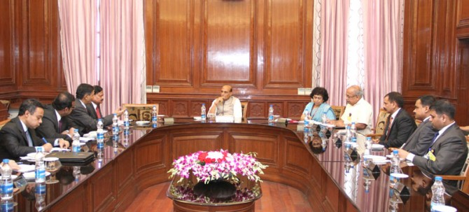 Meeting with a delegation led by the Director General, BGB, Major Gen. Aziz Ahmed (21/08/2014)
