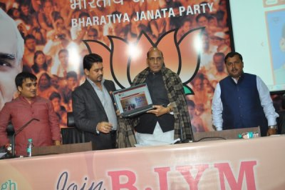 Rajnath Singh appeals for probity in politics