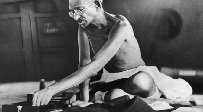 Heartfelt tributes to Mahatma Gandhi on his 66th punyatithi