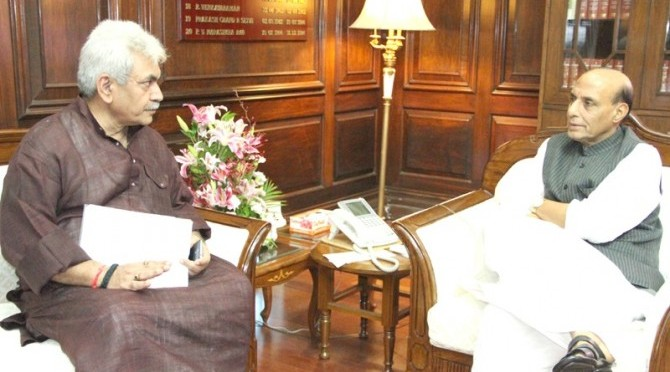 Meeting with Shri Manoj Sinha, The Minister of State for Railways (31/07/2014)