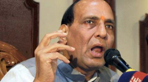 BJP President Rajnath Singh hits back at Rahul Gandhi