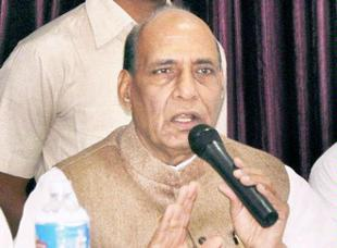 Rajnath Singh blames UPA's faulty economic policy for price rise