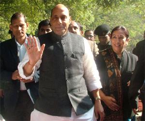 Shri Rajnath Singh appointed Prabhat Jha as organisation affairs chief in Delhi