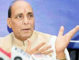 Vote for non-NDA party will boost Congress: Rajnath