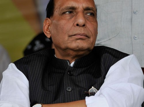 BJP trusted to provide stability, growth: Rajnath Singh