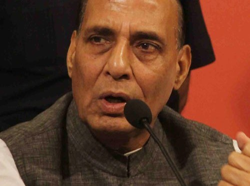 Rajnath digs up mines scam