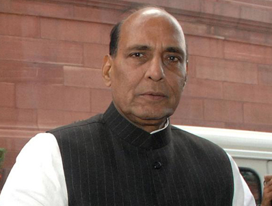 Rajnath Singh expresses happiness over Bharat Ratna to Malaviay and Vajpayee 24-December, 2014 .