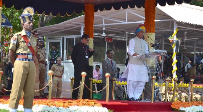 नेशनल पुलिस अकादमी हैदराबाद में गृहमंत्री का अभिभाषण . (31-10-2014)