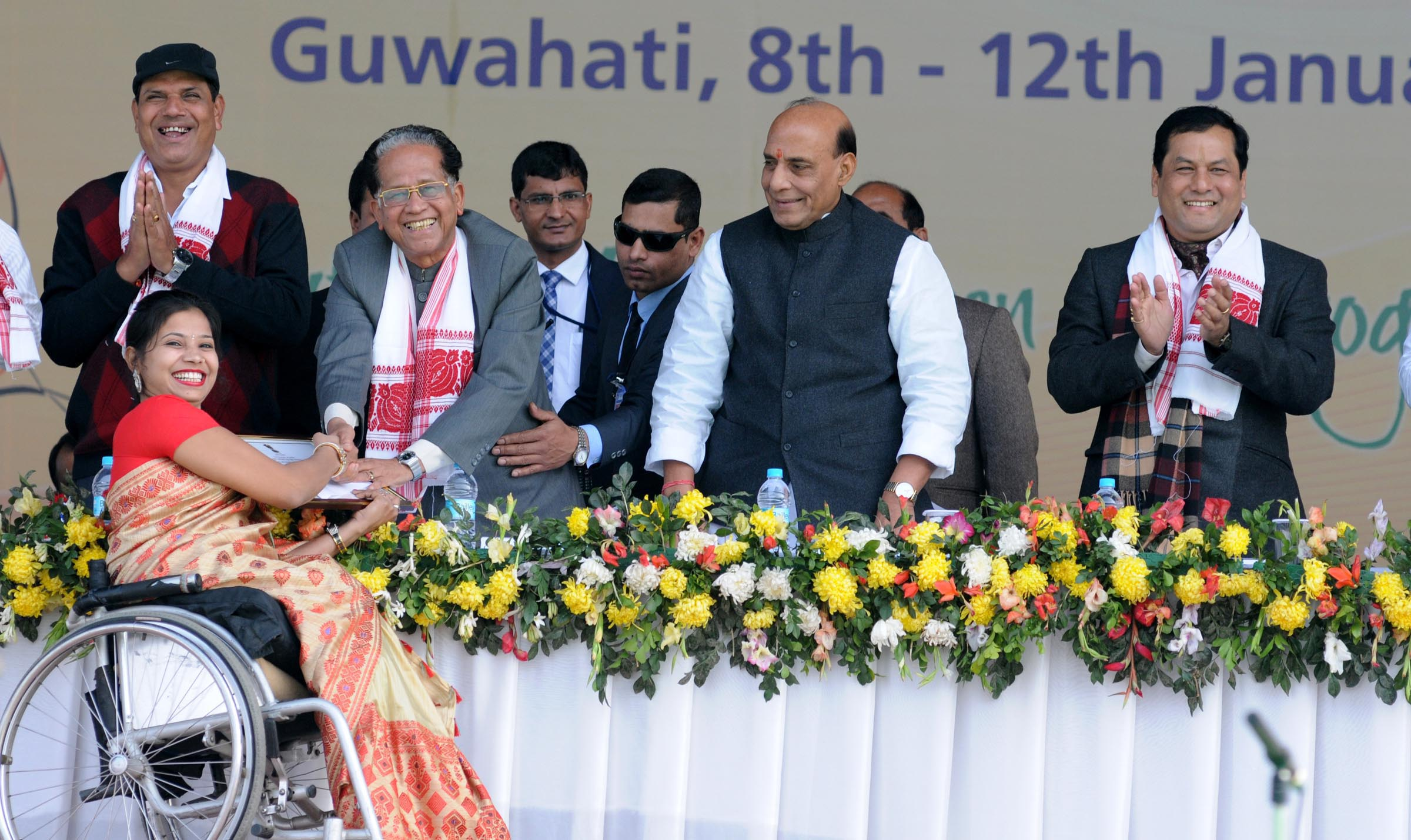 UNION HOME MINISTER AT NATIONAL YOUTH FESTIVAL (3)
