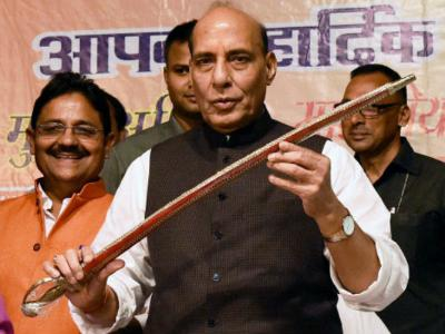 Shocked to know UP has seen rise of 161% in rape cases: Rajnath Singh